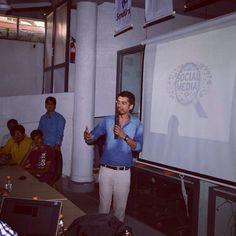 Tricks of Professional blogging - Speaker @Delhi bloggers meet.  #Delhi #bloggers #blogging #speaker