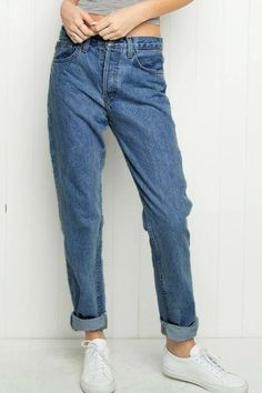 Stylish High-Waisted Loose-Fitting Jeans For Women