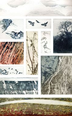 A Walk in Norfolk - Kerry Buck - Collagraph and photopolymer Norfolk, A Level Art, Natural Forms, Abstract Landscape, Art Lessons, Collage Art, Art Prints, Lino Prints, Images