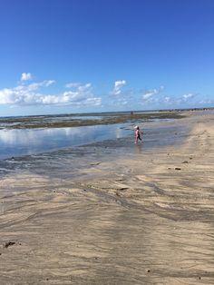 Praia só para a Lara... Praia de Serrambi