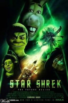 Very cleaver Star Shrek Poster as shared on George Takei's FB page