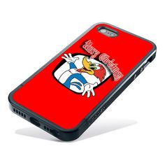 woody woodpecker happy marry christmas Custom Case by SidooRondo