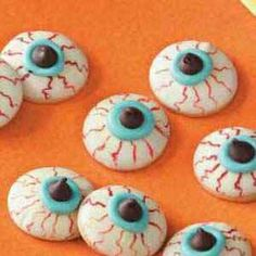 Spooky eye balls