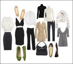 Wardrobe essentials for the young professional woman.