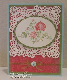 Fresh Vintage with Punch by bejoyce - Cards and Paper Crafts at Splitcoaststampers