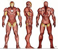 Iron Man Extremis Statue Design by Adi Granov