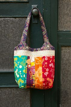 During Quiet Time: Indie Bag-Free Pattern!  THere is a link near the bottom of the post to the instructions.