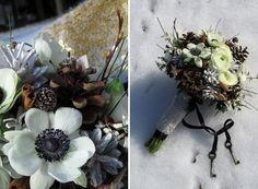 winter wedding / floraviragboltja flower studio