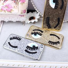 Gold Sequins Eyes Phone Case for iPhone 6/6S - Lulugem.com  https://www.lulugem.com/collections/all-phone-cases/products/copy-of-silver-sequins-flirting-eyes-phone-case-for-iphone-6-6s?lshst=collection