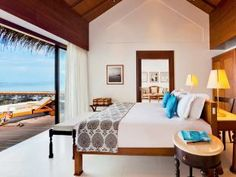 The Residence Maldives - Located in Falhumaafushi, an isolated island in the middle of the Indian Ocean, this luxurious residence provides the ultimate designer pad for travelers seeking a stylish vacation hotel. This particular location was thoughtfully chosen for its miraculous access to sea breeze, organic garden space, and a sense of being one with nature.