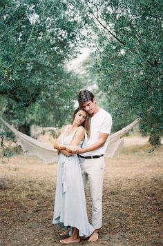 Casual Outdoor Engagement Session in Greece