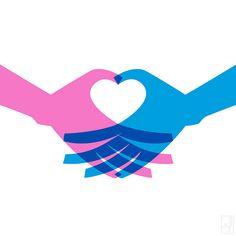 love #love #print #heart #simple