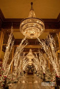 Roosevelt Hotel New Orleans | Christmas Decor | 2012 The Holiday Issue