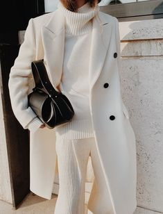 Winter Fashion Outfits, Fall Winter Outfits, Autumn Winter Fashion, Winter Chic, Looks Chic, Looks Style, My Style, White Fashion, Look Fashion