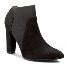 Magasított cipő SOLO FEMME - 14134-59-C78/000-13-00 Fekete