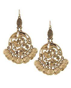 Antique Gold Chandelier Filigree Earring Set / AZBTTE011-GCL Arras Creations http://www.amazon.com/dp/B00UMIDF7K/ref=cm_sw_r_pi_dp_b5.cvb0H99DTQ