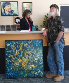 Delivering METROPOLIS to KVIE for their 2014 Art Auction.