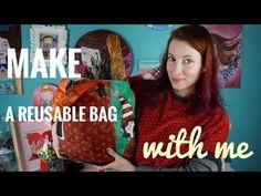 Πώς να φτιάξετε μία Τσάντα από Σακούλες και Καλή Χρονιά! - YouTube
