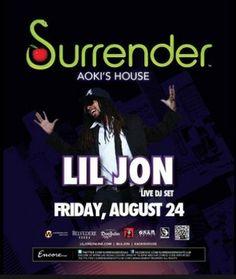 Lil Jon, Surrender, Las Vegas  Nightclubs.com