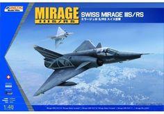 KINETIC 1/48 MIRAGE IIIS/RS KIN48058 #Kinetic