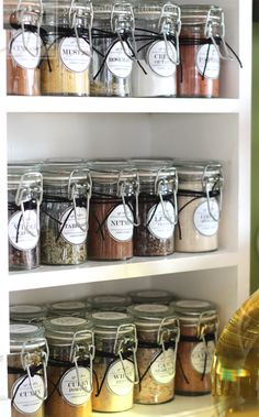 Pantry Organizing Ideas & Free Printable labels/ Snippets of Design