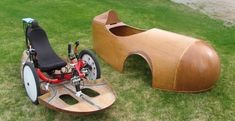 Velomobiles and velonauts Mobiles, Go Kart Plans, Powered Bicycle, Recumbent Bicycle, Reverse Trike, Bike Store, Karting, Pedal Cars, Sidecar
