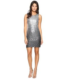 VINCE CAMUTO Sleeveless Ombre Sequins Sheath Dress. #vincecamuto #cloth #