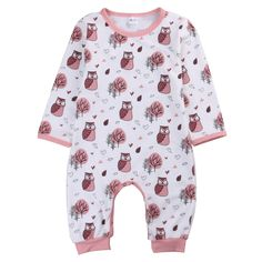 >> Click to Buy << Drop Shipping 2017 Newborn Baby One-piece Boys Girls Animals Cute Long Sleeve Romper Jumpsuits Infant  #Affiliate