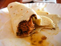 A real burrito from Juárez, MEX. If only the world knew the truth about home made, nourishing burritos...