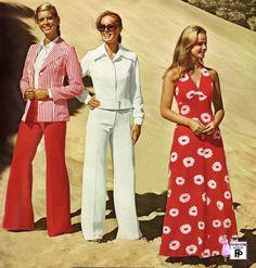 Roupas femininas dos anos 70 - fotos, dicas 28