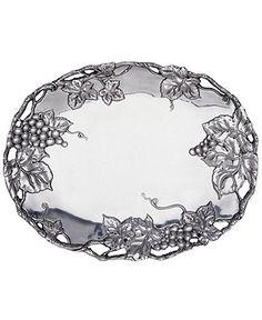 Serve 'em in style Arthur Court oval tray #grapes #serveware @macys