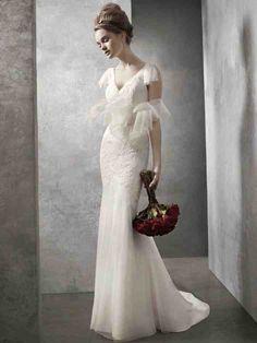 White By Vera Wang Bridesmaid Dresses