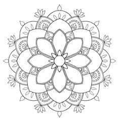 196 Dibujos De Mandalas Para Colorear Faciles Y Dificiles Mandala Coloring PagesColoring Book