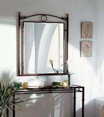 Miroirs en fer forgé: modèle SOFIA.