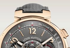Louis Vuitton - Tambour Voyagez - Lugs - Watch detail