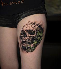 Skull by Jose Contreras