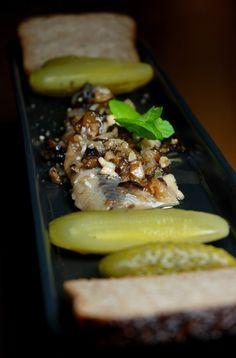 herring in nuts and plums @Czystaojczysta vodka bar