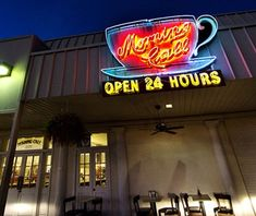 Morning Call Cafe,Metairie, LA - Cool Neon Signs Around the World Downtown New Orleans, New Orleans Louisiana, Metairie Louisiana, Paris Las Vegas, Las Vegas Hotels, Cool Neon Signs, Neon Gas, Neon Museum, Fremont Street