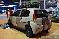 Daihatsu Sirion – modded Indonesian Myvis (rear)