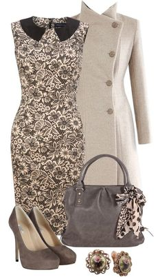 Very cute dress and gorgeous jacket!