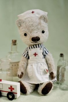 hippie coco nurse bear