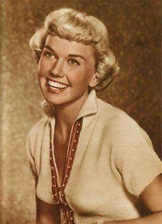 Doris Day, beautiful smile