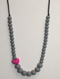 Mason and birdie Shop @ www.masonandbirdie.com Trendy silicone, crocheted, and wood teething jewelry and baby accessories. Our products are lovingly made and selected to keep you stylish and your little ones happy! Sophie - Silicone Beaded Necklace