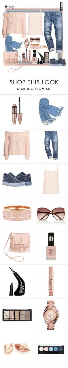 """""""Traffic lights for Spring!"""" by ritva-harjula ❤ liked on Polyvore featuring Maybelline, Forzieri, H&M, Equipment, Henri Bendel, River Island, Topshop, NYX, Urban Decay and Michael Kors"""