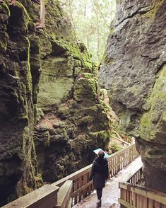 This 3-km Trail Takes You To Cliffs, Caves And An Old Canyon In Ontario - Narcity