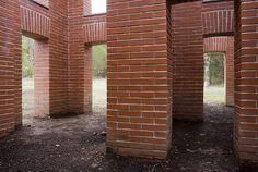 Per Kirkeby's Brick Sculptures