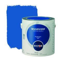Histor Perfect Finish muurverf mat doordrongen 2,5 l | Muurverf kleur | Muurverf | Verf & verfbenodigdheden | KARWEI