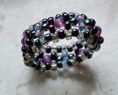 #Schmuck, #Ring, #Perlen, #lila, jewellery, joyas, bijoux, ювелирные изделия, biżuteria, gioielli, juwelen, koruja, smykker, 珠寶,anillo, anneau, кольцо, anello, rengas, 環,