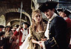 "boleyn36: "" The interrupted wedding of Elizabeth Swann (Keira Knightley) and Will Turner (Orlando Bloom) in 'Pirates of the Caribbean: Dead Man's Chest' (2006) """