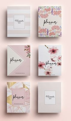 Enfim, resolvido!: PLANNER PAGO 2019 VERSÃO ROSE Notebook Cover Design, Diy Notebook, Diary Cover Design, Agenda Planner, Planner Layout, Cute Stationery, Stationery Design, Korean Stationery, Cool School Supplies